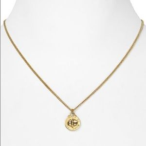 """MARC JACOBS Turnlock Pendant Necklace, 17.5"""""""